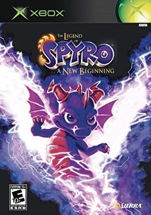 Cover for The Legend of Spyro: A New Beginning.