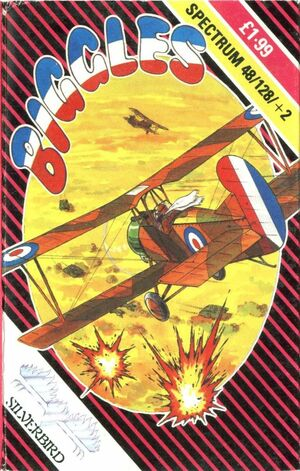 Cover for Biggles.