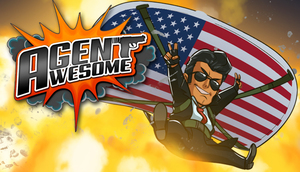 Cover for Agent Awesome.