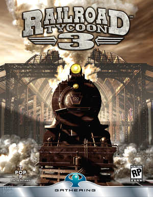 Cover for Railroad Tycoon 3.