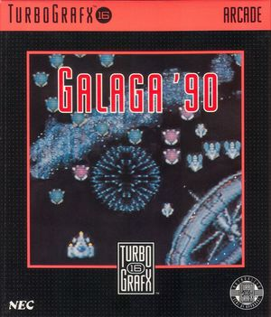 Cover for Galaga '88.