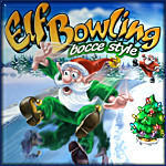 Cover for Elf Bowling: Bocce Style.