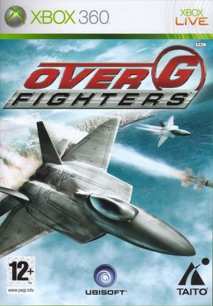 Cover for Over G Fighters.