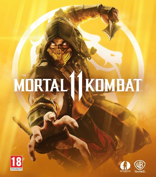 Cover for Mortal Kombat 11.
