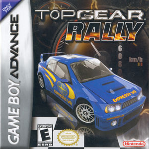 Cover for Top Gear: Rally.