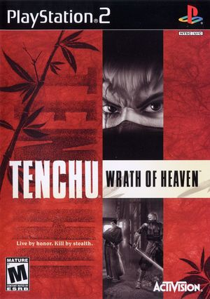 Cover for Tenchu: Wrath of Heaven.