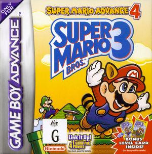 Cover for Super Mario Advance 4: Super Mario Bros. 3.