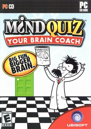 Cover for Mind Quiz: Your Brain Coach.