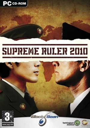 Cover for Supreme Ruler 2010.