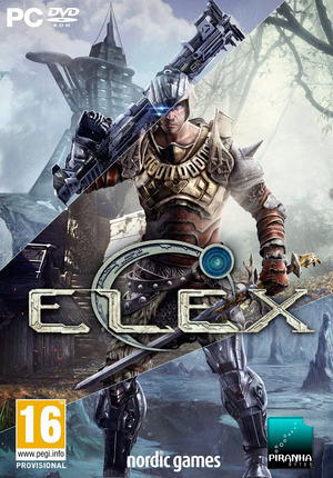 Cover for ELEX.