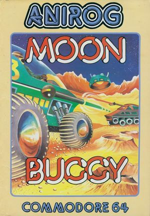 Cover for Moon Buggy.