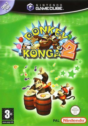 Cover for Donkey Konga 2.