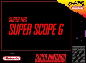 Cover for Super NES Super Scope 6.