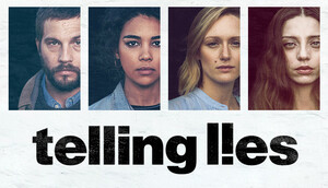 Cover for Telling Lies.