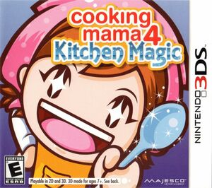 Cover for Cooking Mama 4: Kitchen Magic.