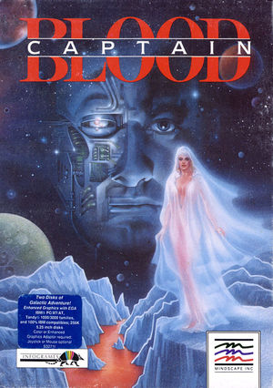 Cover for Captain Blood.