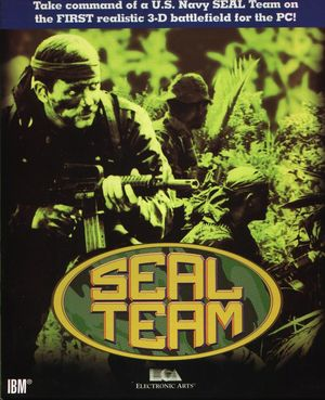 Cover for SEAL Team.
