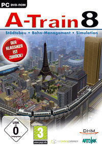 Cover for A-Train 8.