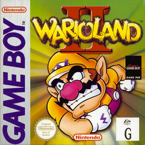 Cover for Wario Land II.