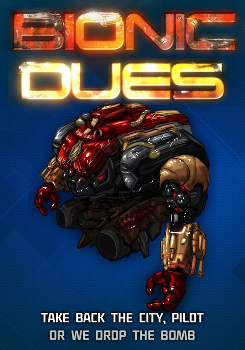 Cover for Bionic Dues.