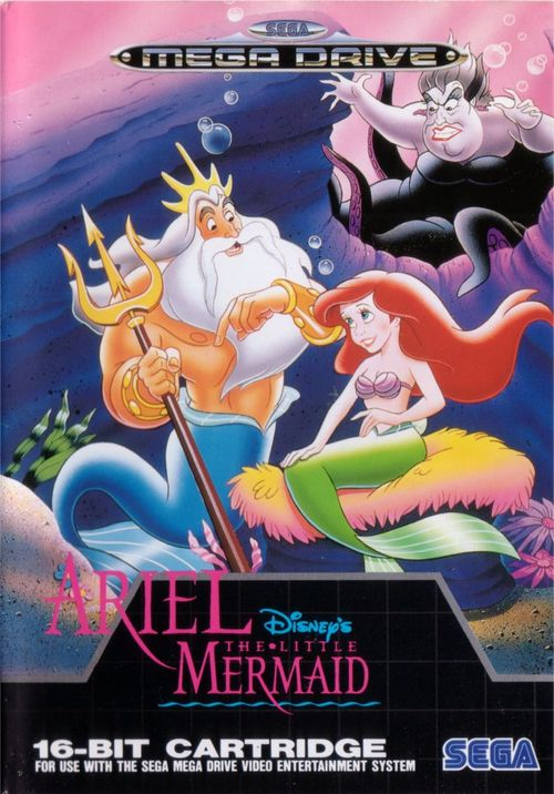 Cover for Ariel the Little Mermaid.