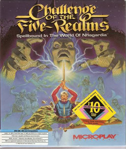 Cover for Challenge of the Five Realms.