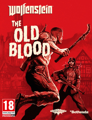 Cover for Wolfenstein: The Old Blood.