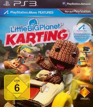 Cover for LittleBigPlanet Karting.
