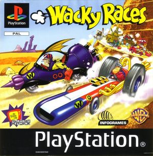 Cover for Wacky Races.