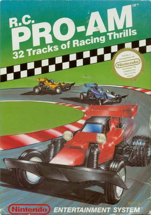 Cover for R.C. Pro-Am.