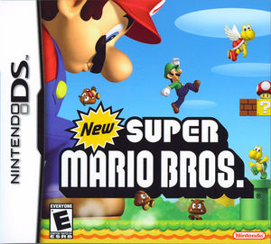 Cover for New Super Mario Bros..