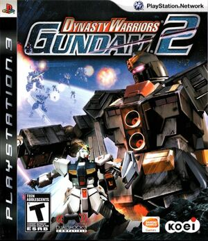 Cover for Dynasty Warriors: Gundam 2.