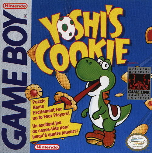 Cover for Yoshi's Cookie.