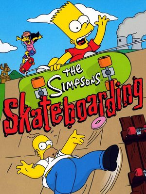 Cover for The Simpsons Skateboarding.