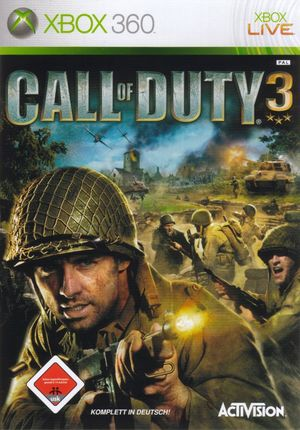 Cover for Call of Duty 3.