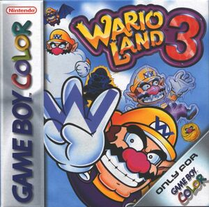Cover for Wario Land 3.