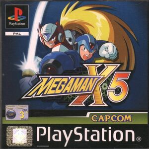 Cover for Mega Man X5.