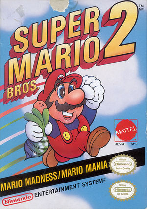 Cover for Super Mario Bros. 2.