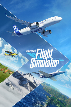 Cover for Microsoft Flight Simulator.