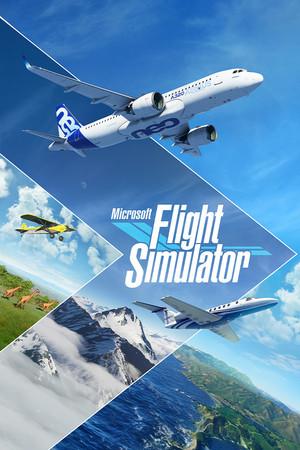 Cover for Microsoft Flight Simulator.