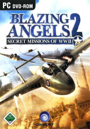 Cover for Blazing Angels 2: Secret Missions of WWII.
