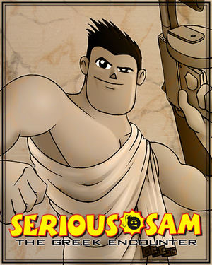 Cover for Serious Sam: The Greek Encounter.