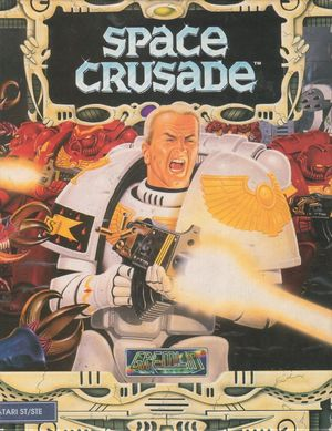 Cover for Space Crusade.