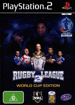 Cover for Rugby League 2: World Cup Edition.
