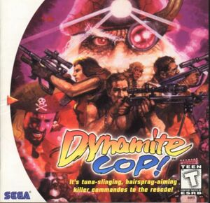 Cover for Dynamite Cop.