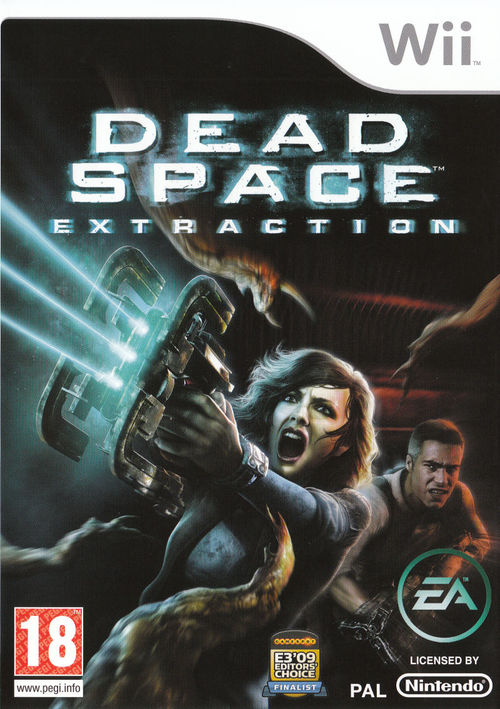 Cover for Dead Space: Extraction.