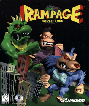 Cover for Rampage World Tour.