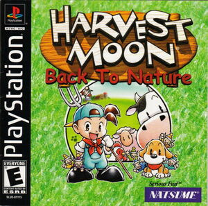Cover for Harvest Moon: Back to Nature.