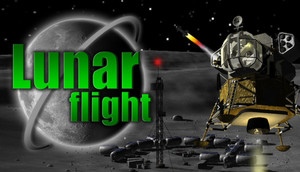 Cover for Lunar Flight.