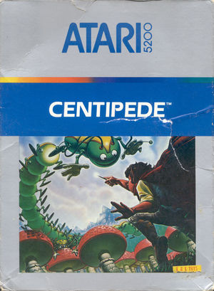 Cover for Centipede.